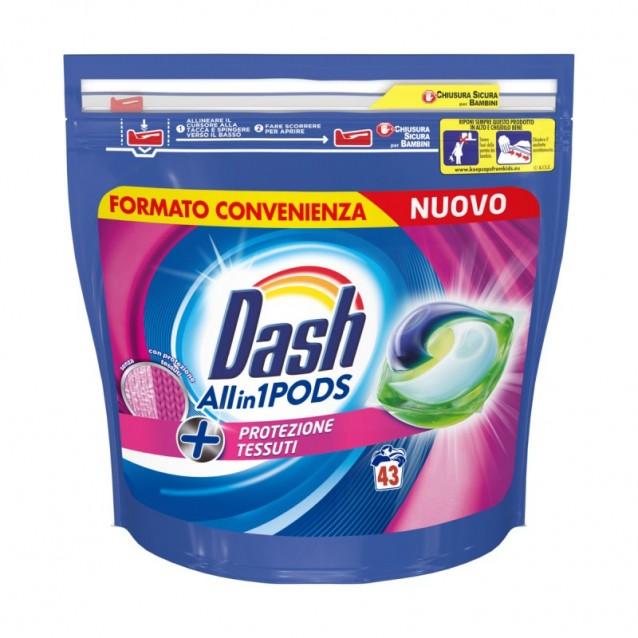 Dash detergent pernute extra igienizzante 43 buc