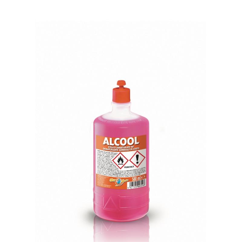Alcool etilic Solbat denaturat 90 grade 500 ml
