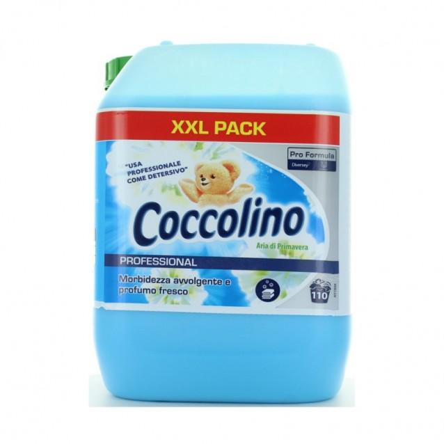 Coccolino balsam de rufe parfum de primavara 10 L - 110 spalari