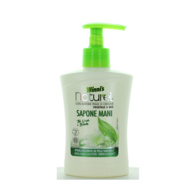 Winni's Naturel sapun lichid hipoalergenic ceai verde 250 ml