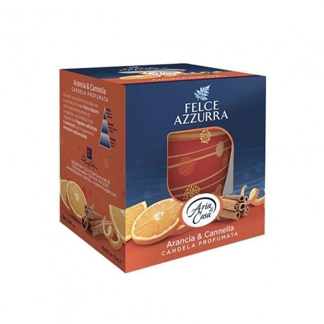 Felce Azzurra candela parfumata portocala & scortisoara 120g