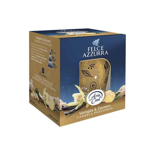 Felce Azzurra candela parfumata vanilie & ghimbir 120g