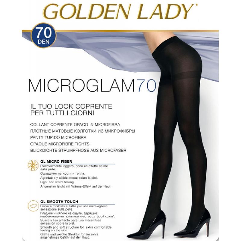 Golden Lady microglam dres 70 den negru talia 2 si 3
