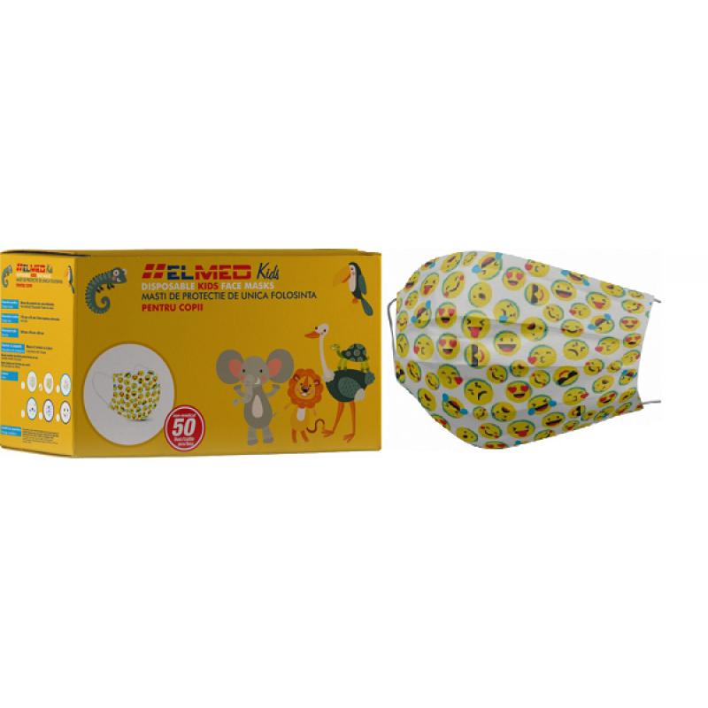 Masti de protectie de unica folosinta pentru copii