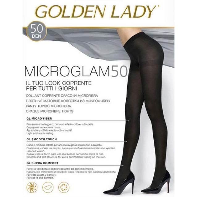 Golden Lady microglam dres 50 den negru talia 2