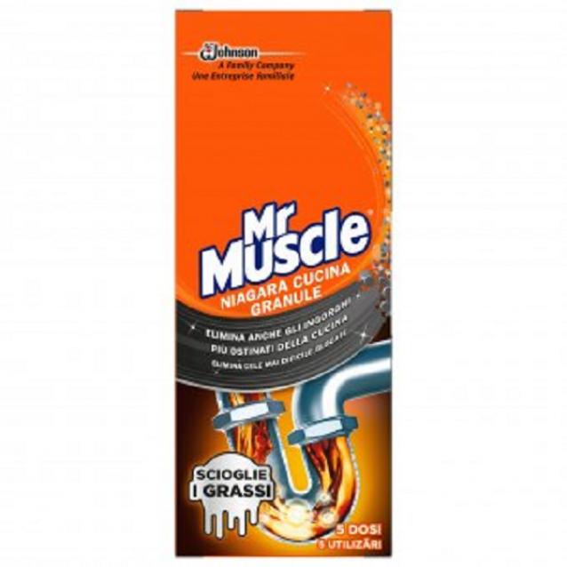 Mr Muscle granule pentru desfundat tevi 250 g