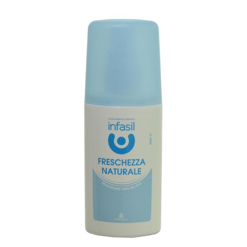 Deo vapo antiperspirant Freschezza naturale INFASIL 70 ML