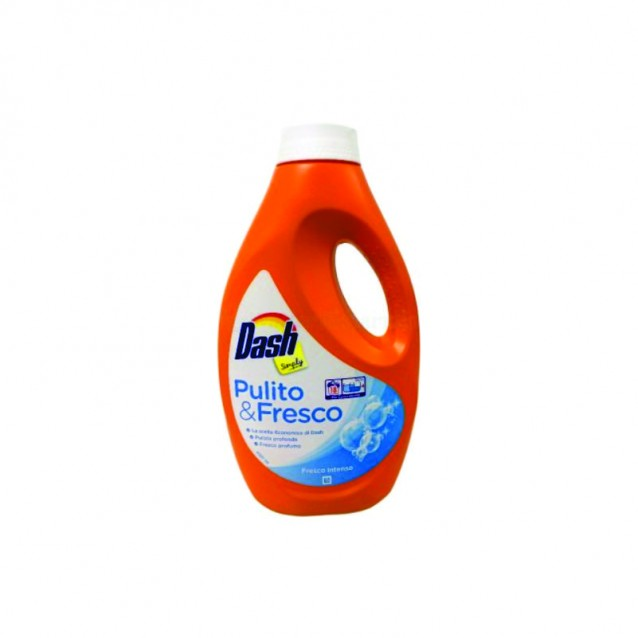 Dash Simply detergent lichid fresco 18 sp 990 ml