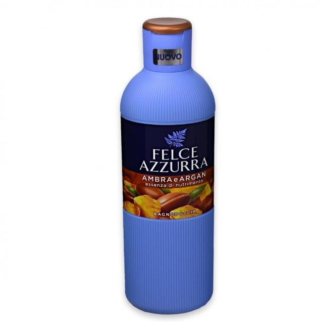 Felce Azzurra gel dus ambra si argan 650 ml