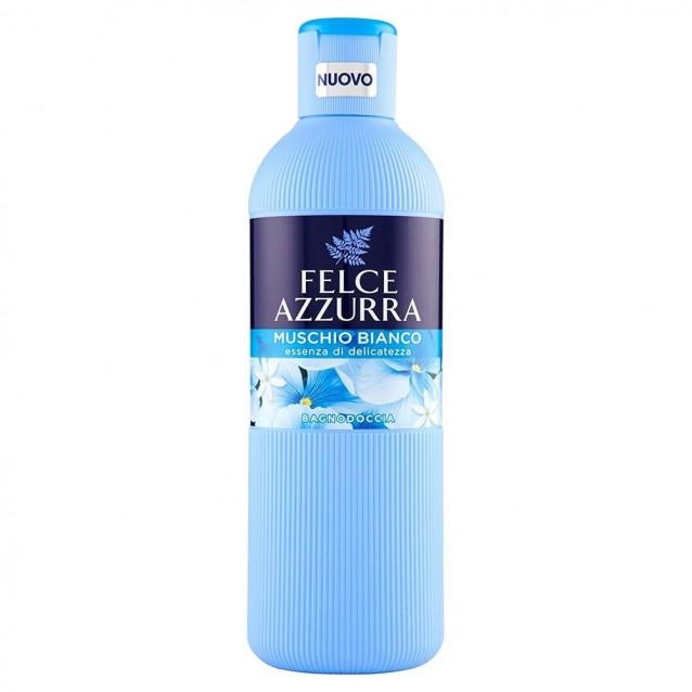Felce Azzurra gel dus musc alb 650 ml