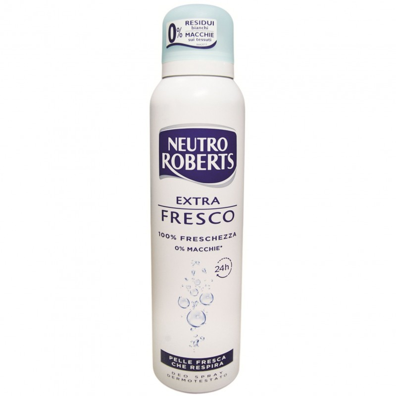 Neutro Roberts antiperspirant spray fresco 125 ml