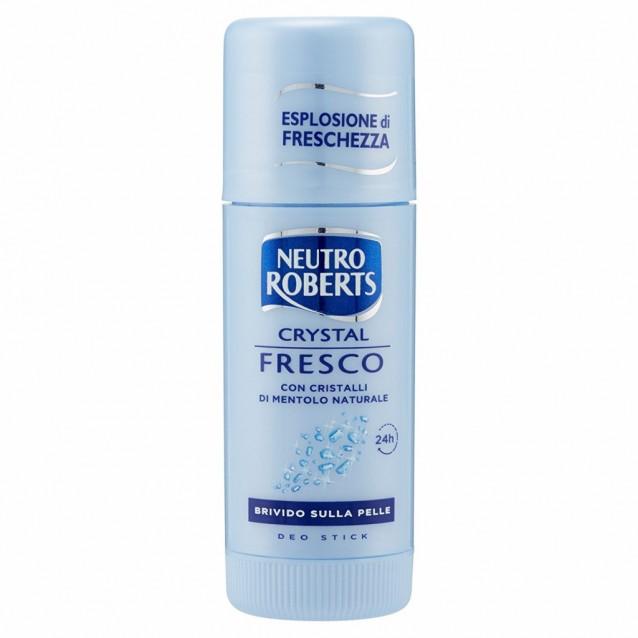 Neutro Roberts stick antiperspirant cristale de mentol 40 ml