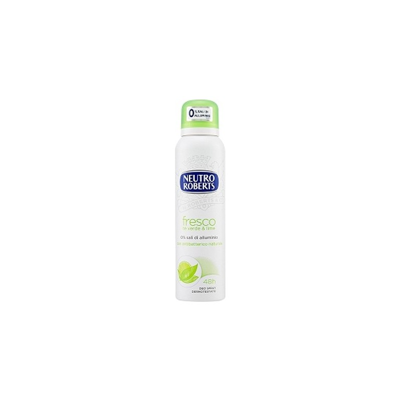 Neutro Roberts antiperspirant spray ceai verde si lime 125 ml