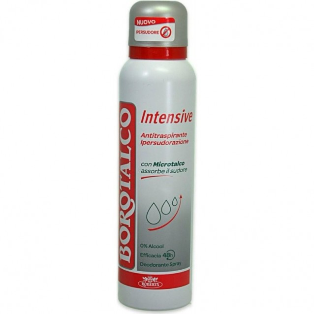 Antiperspirant intensiv spray Borotalco 150 ml