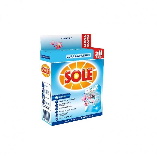 Solutie pentru curatat masina de spalat SOLE 2*250 ml