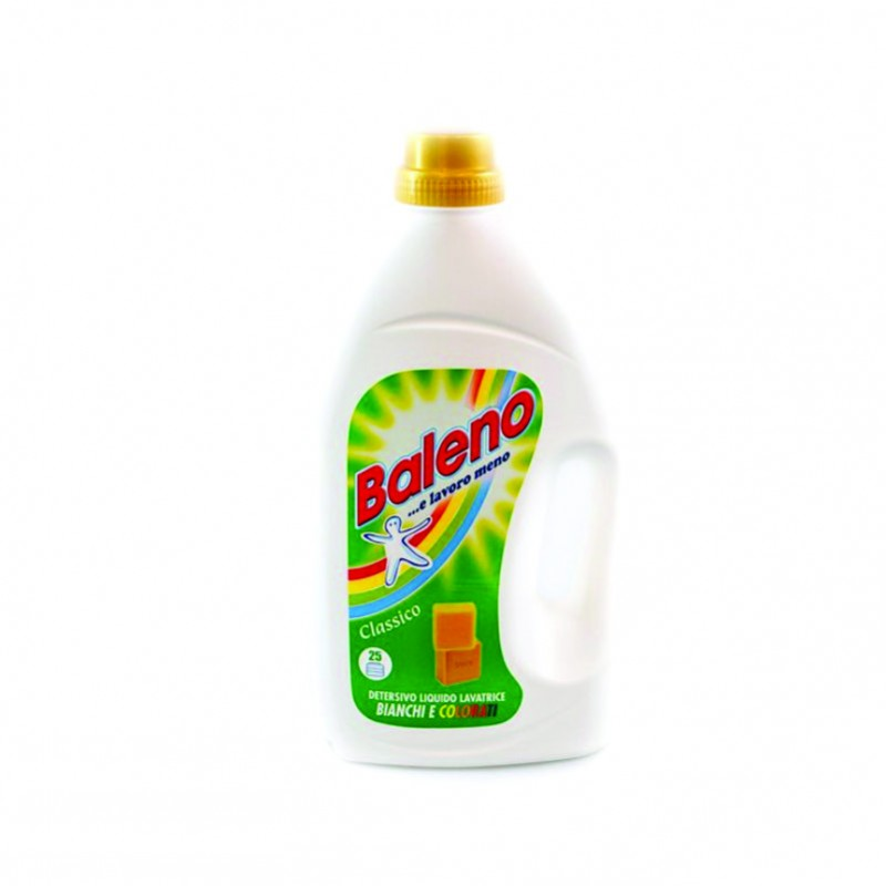 Baleno  detergent lichid rufe clasic 28 spalari