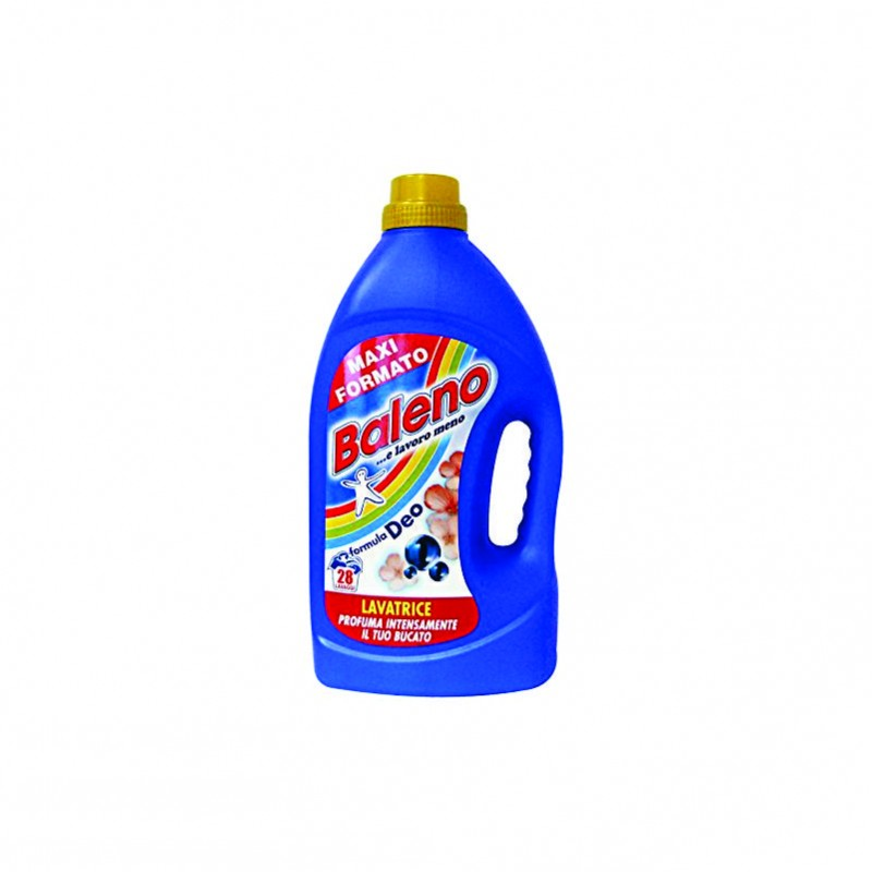 Baleno detergent lichid rufe Deo 28 spalari