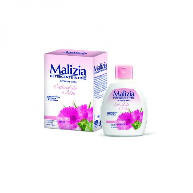 Detergent intim cu galbenele MALIZIA 200 ml
