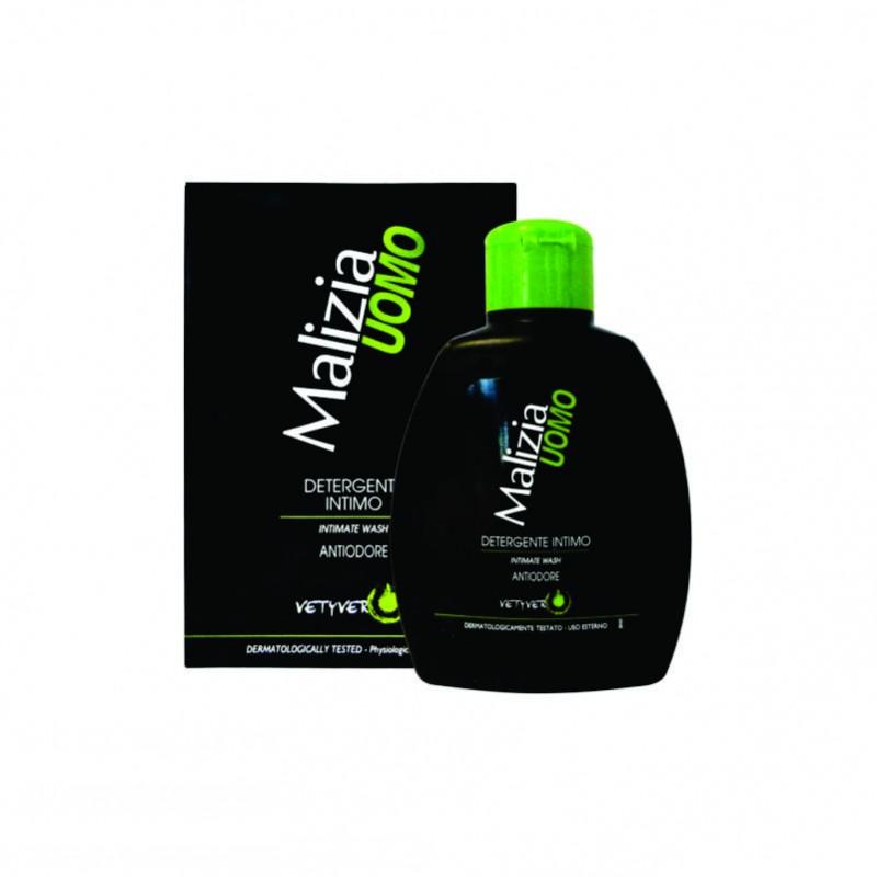 Detergent intim antimiros pentru barbati MALIZIA 200 ml