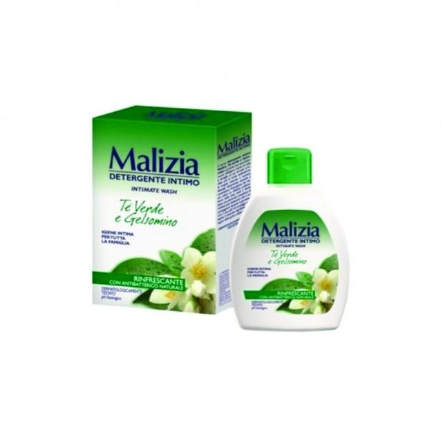 Detergent intim ceai verde si iasomie Malizia  200 ML