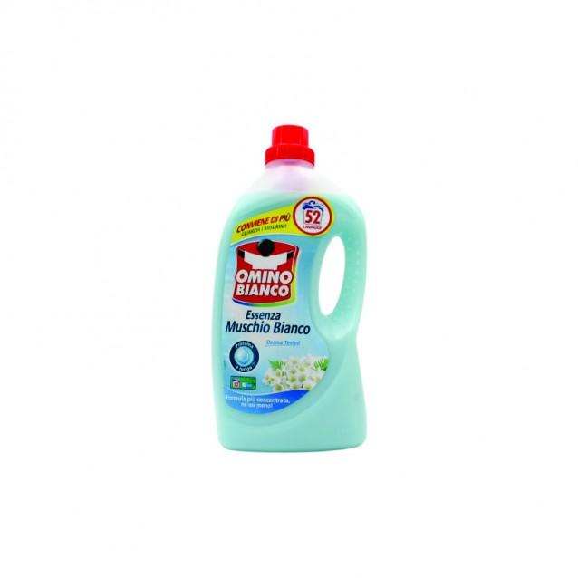 Omino Bianco detergent lichid musc alb 52 sp