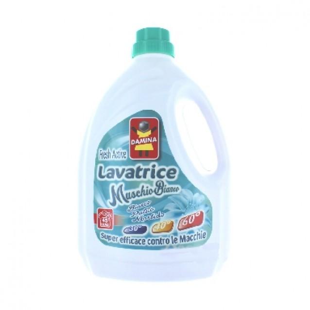 Damina detergent rufe cu musc alb 3L