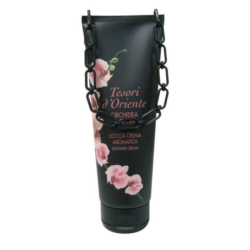 Gel dus crema orhidee Tesori 250 ml