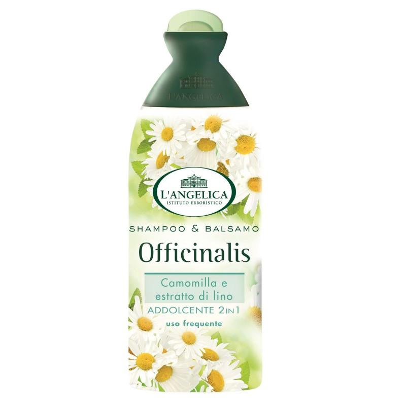 Sampon cu balsam par fragil delicat L'Angelica 250 ml