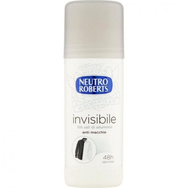 Neutro Roberts stick antiperspirant invisibile 40 ml