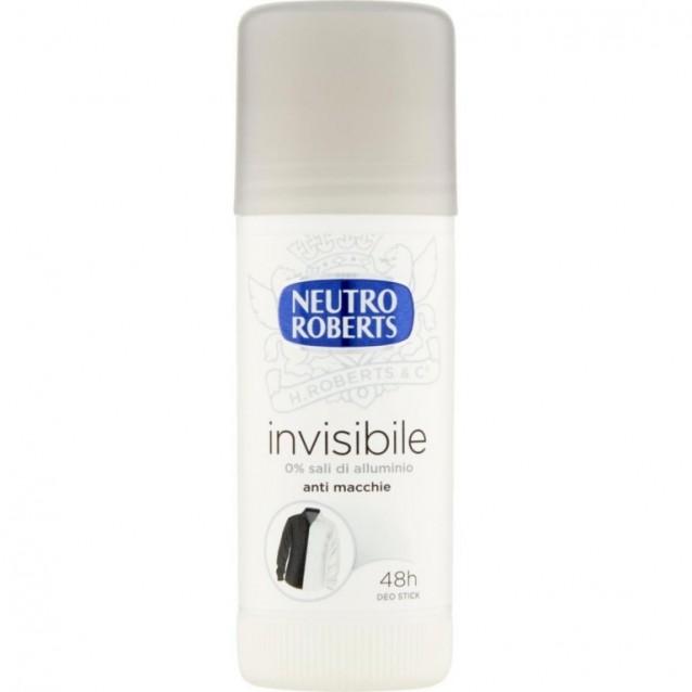 Neutro Roberts stick antiperspirant invisibile 40 ml