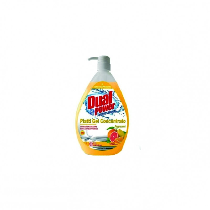 Detergent vase citrice Dual Power 1000 ml