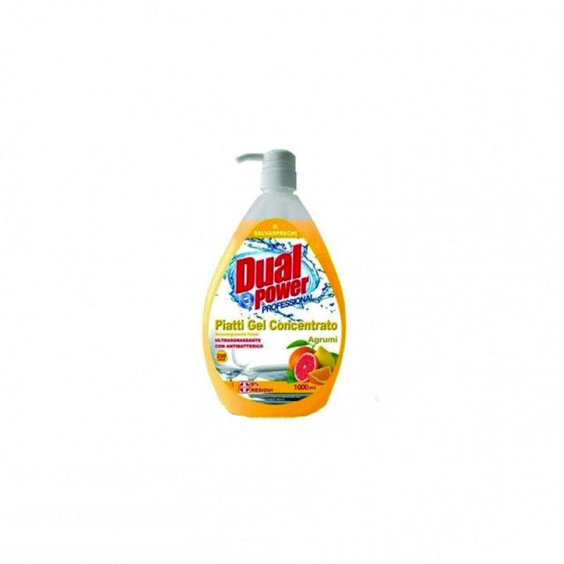 Detergent vase citrice Dual Power 1000 ml