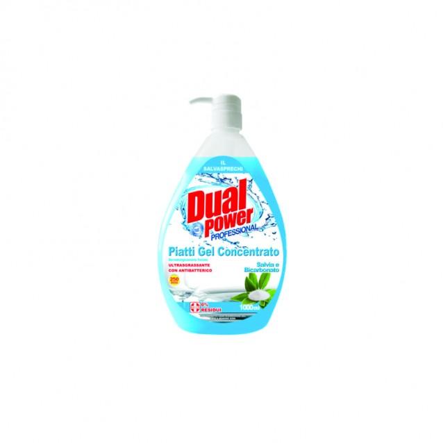 Dual power detergent vase antibacterian cu bicarbonat 1000 ml