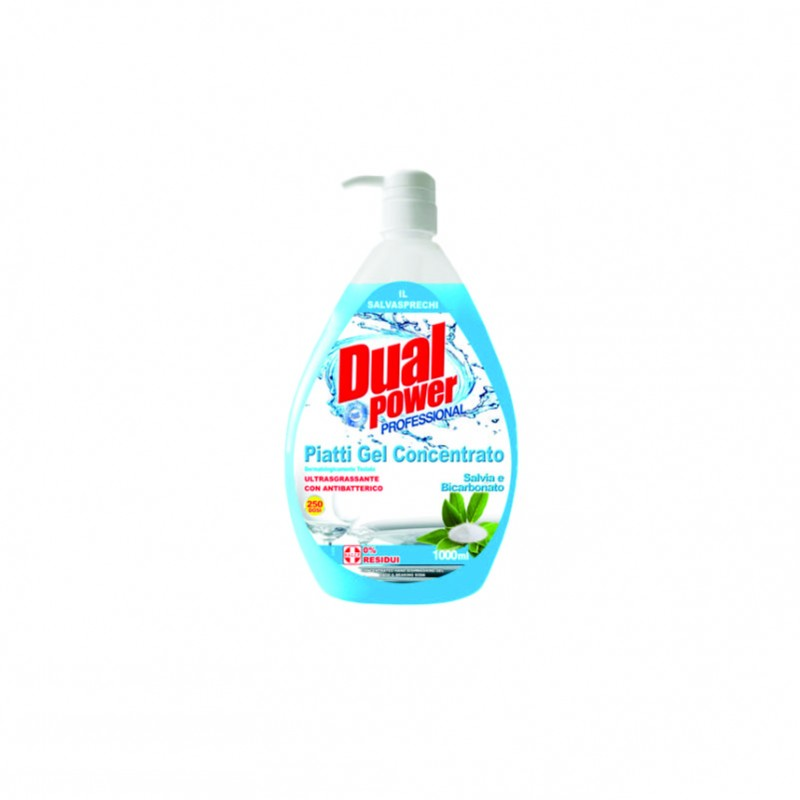 Detergent vase bicarbonat  Dual Power 1000 ml