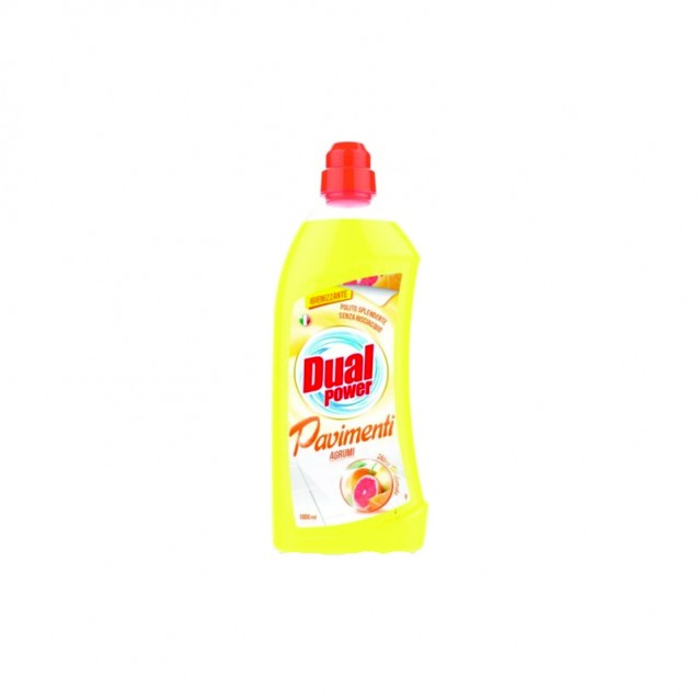 Detergent gresie citrice Dual Power 1000 ml