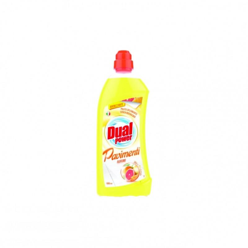 Detergent gresie citrice Dual Power 1000 ml