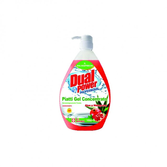 Detergent vase Aloe si Rodie Dual Power 1000 ml