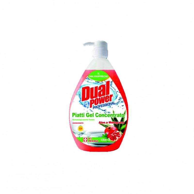 Detergent vase Aloe si Rodie Dual Power 1000 ml