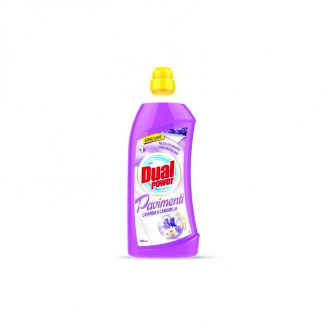 Detergent gresie lavanda si musetel Dual Power 1000 ml