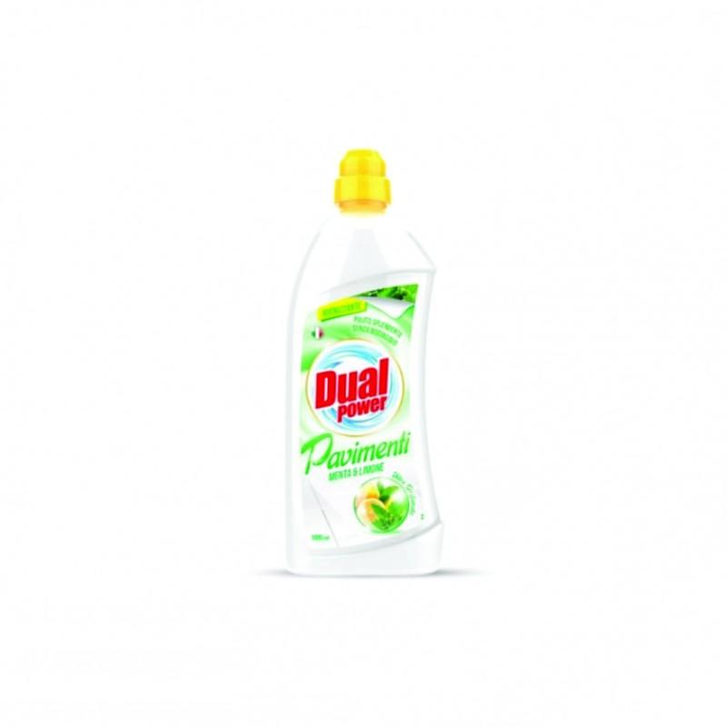Detergent gresie menta si lemon Dual Power 1000 ml