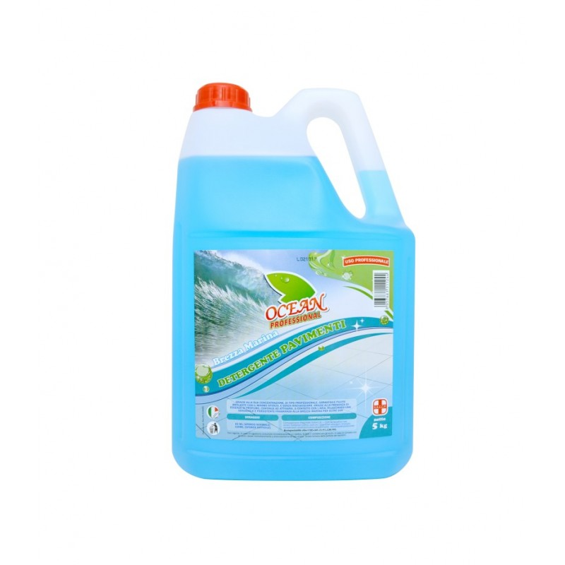 Ocean detergent pavimente breeza marina 5 L