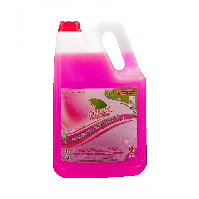 Ocean detergent pavimente cu alcool 5 L