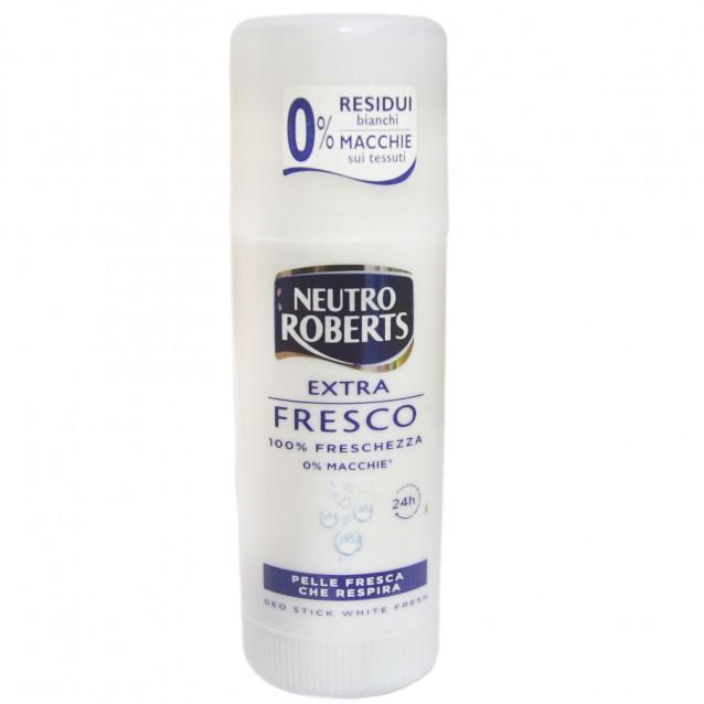 Neutro Roberts stick antiperspirant white fresh Fresco 40 ml