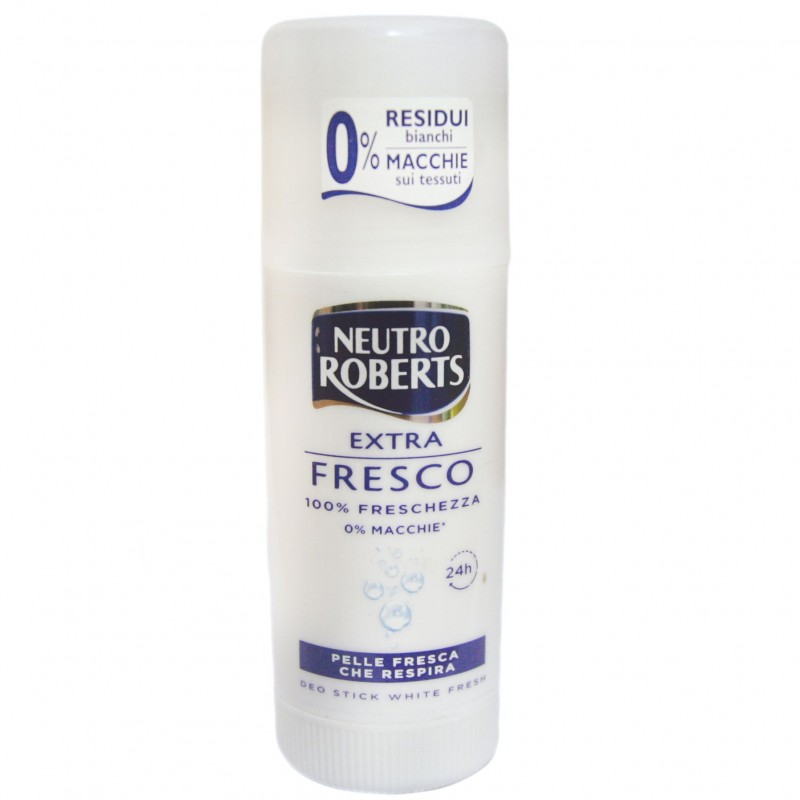 Neutro Roberts stick antiperspirant white fresh Fresco 40 ml