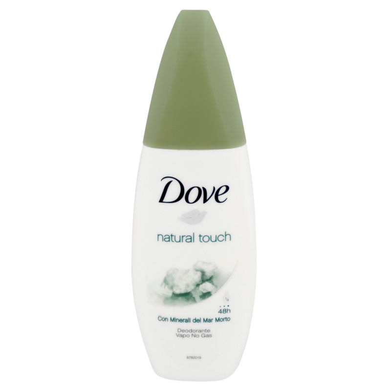 Dove antiperspirant deo vapo natural touch 75 ml