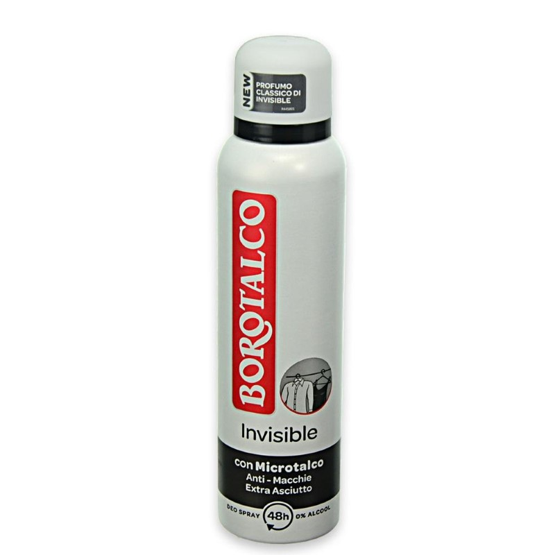 Borotalco antiperspirant invizibil spray 150 ml