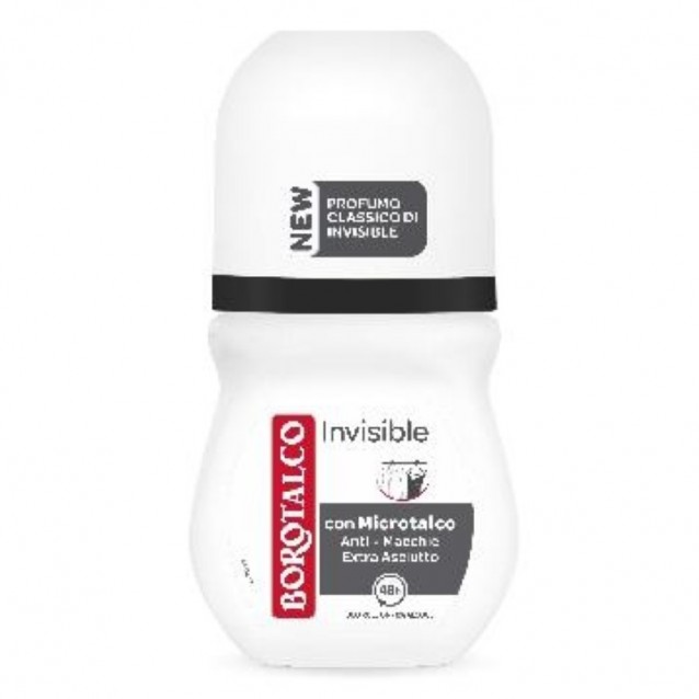 Borotalco antiperspirant roll-on invizibil 50 ml