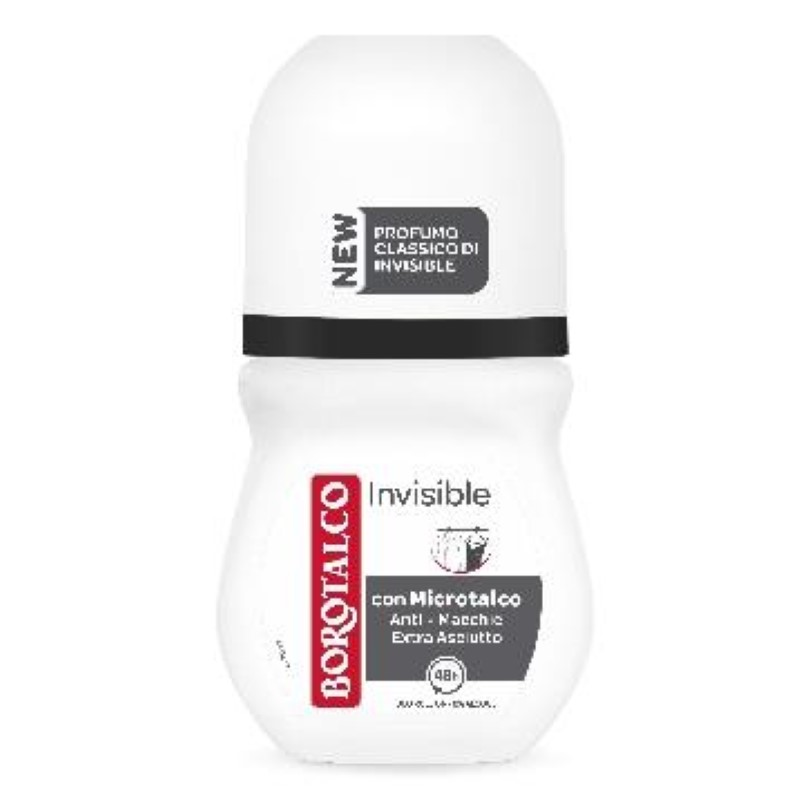 Antiperspirant roll-on Borotalco invizibil 50 ml