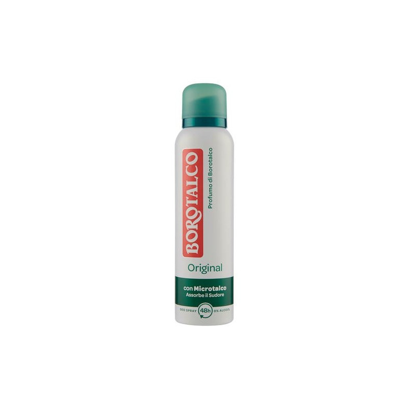 Borotalco spray original 150 ml