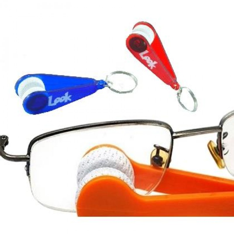 Breloc accesoriu pentru curatat ochelari